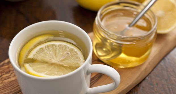 Drink Lemon And Honey Water In The Morning