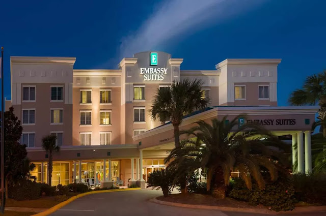 The Embassy Suites by Hilton Destin Miramar Beach, is designed as the first all-suite hotel in Destin, FL.