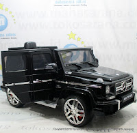 Pliko PK-G3N Mercedes Benz G63 AMG Lisensi Battery Toy Car