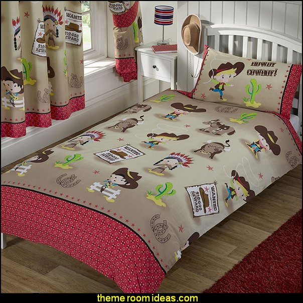 Howdy Cowboy bedding  cowboy theme bedrooms - rustic western style decorating ideas - rustic decor - cowboy decor - Cowboy Bedding Western bedroom decor - horse decor - cowboy wall murals horse wall murals