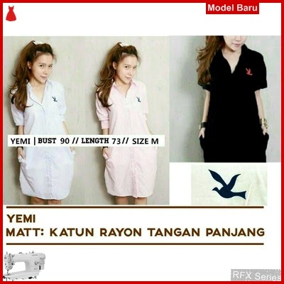 RFX133 MODEL YEMI DRESS RAYON ADEM FIT M MURAH