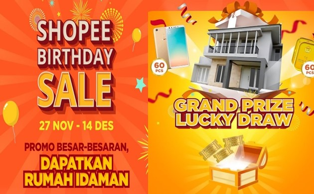 12 Promo Sambut Ulang Tahun Shopee di Shopee Birthday Sale-shopee.co.id