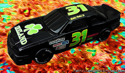 Bobby Hillin #31 Ireland Racing Champions 1/64 NASCAR diecast blog Martin Birrane