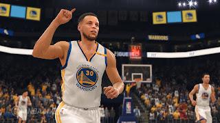 NBA Live 18 PS4 Wallpaper