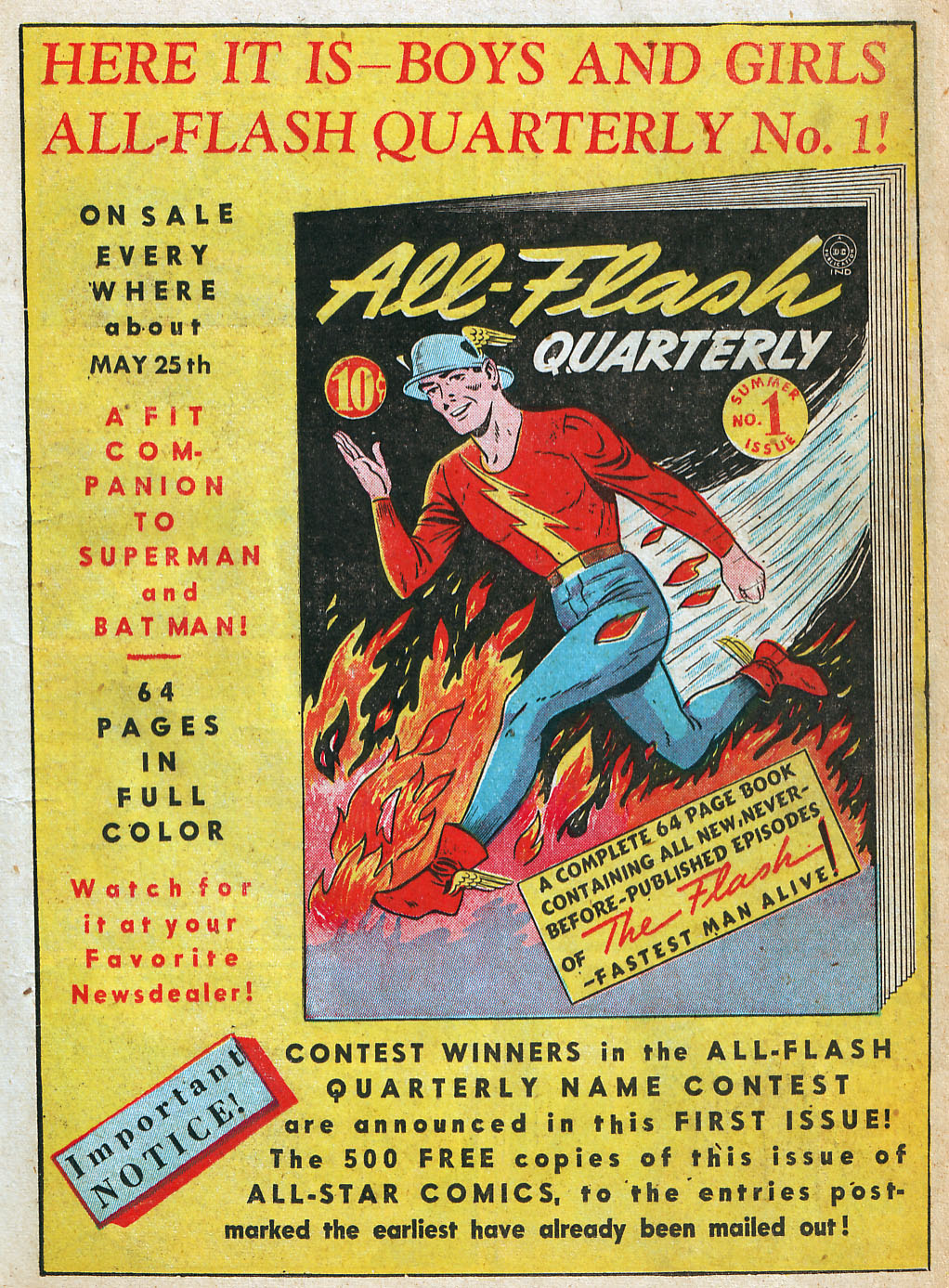 Read online All-Star Comics comic -  Issue #5 - 13