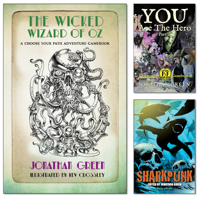 Jonathan Green Author Gamebook Friday The Wicked Wizard Of Oz At