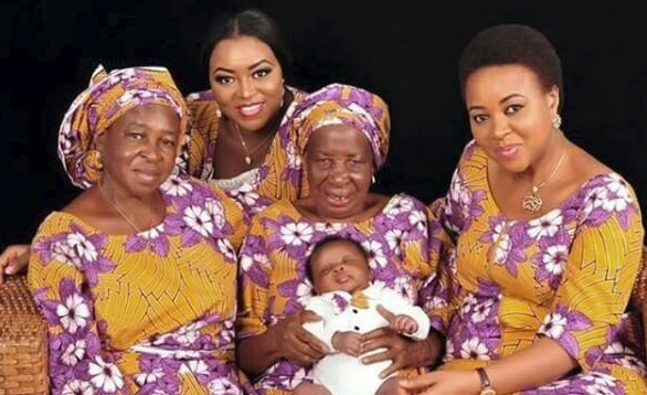 SEE VIRAL 5 GENERATION PHOTO OF A NIGERIAN FAMILY Ebals blog
