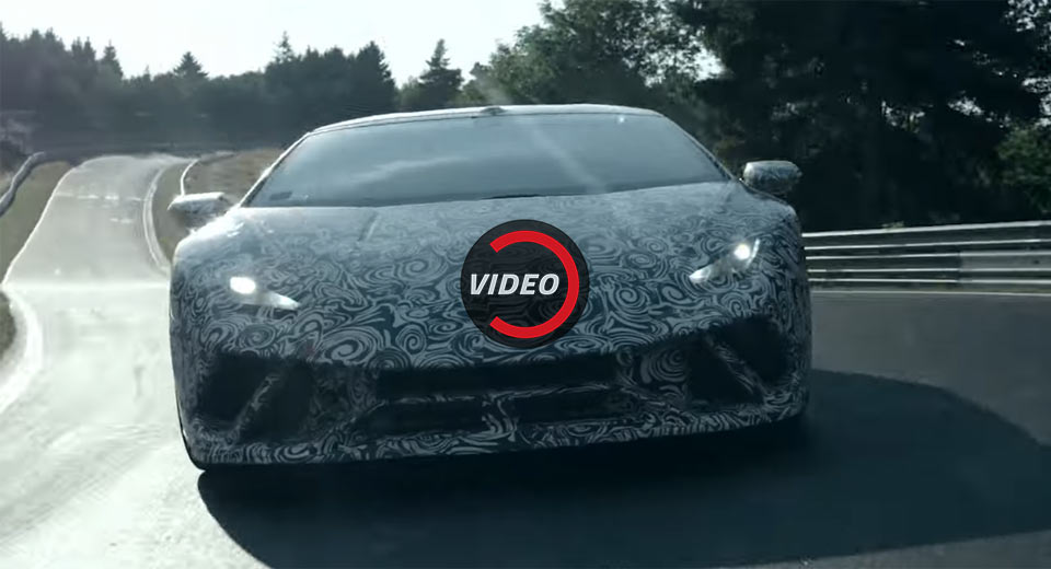 The Lamborghini Huracan Performante Is a 640 HP Track Monster