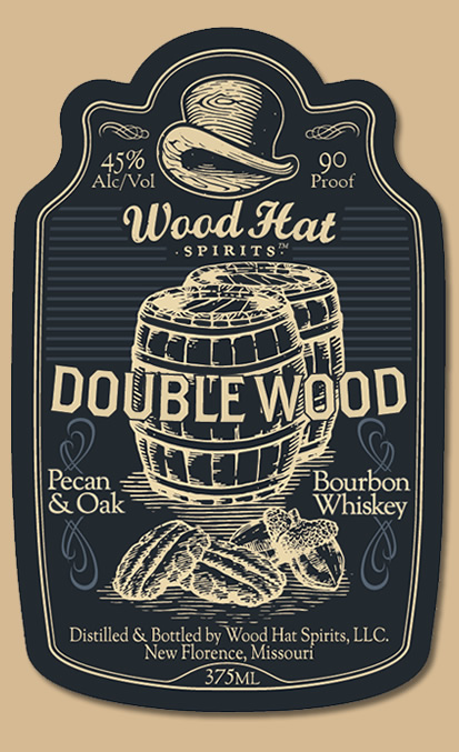 new arrival 56b75 af57e Wood Hat Double Wood Bourbon... 25.99   375ml. This is a remarkable Double  Wood Bourbon, beginning its life as our sumptuous Bourbon Rubenesque, ...