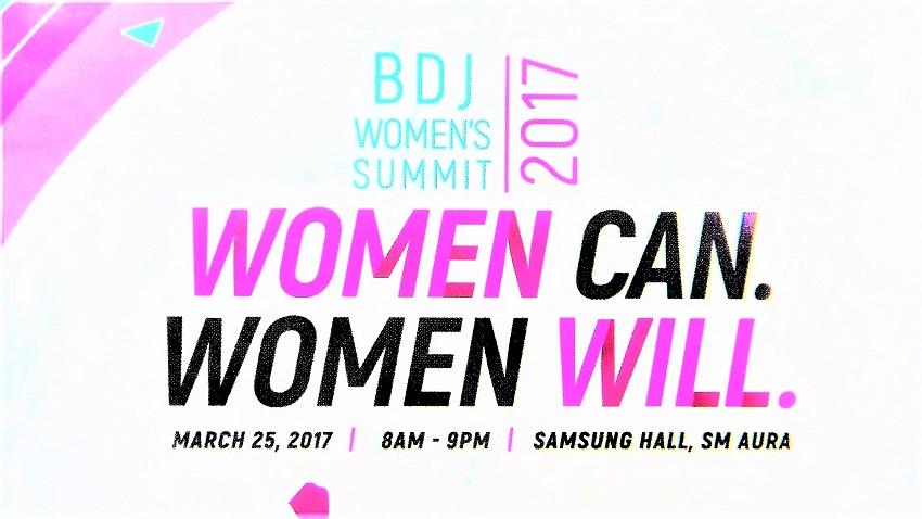 BDJ Women`s Summit 2017 Women Can. Women Will. - Samsung Haul at SM Aura - March 25, 2017 - Events - Lifestyle Blogger - (Image by @TheGracefulMist www.TheGracefulMist.com)
