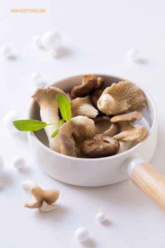 Mushrooms Food Photography