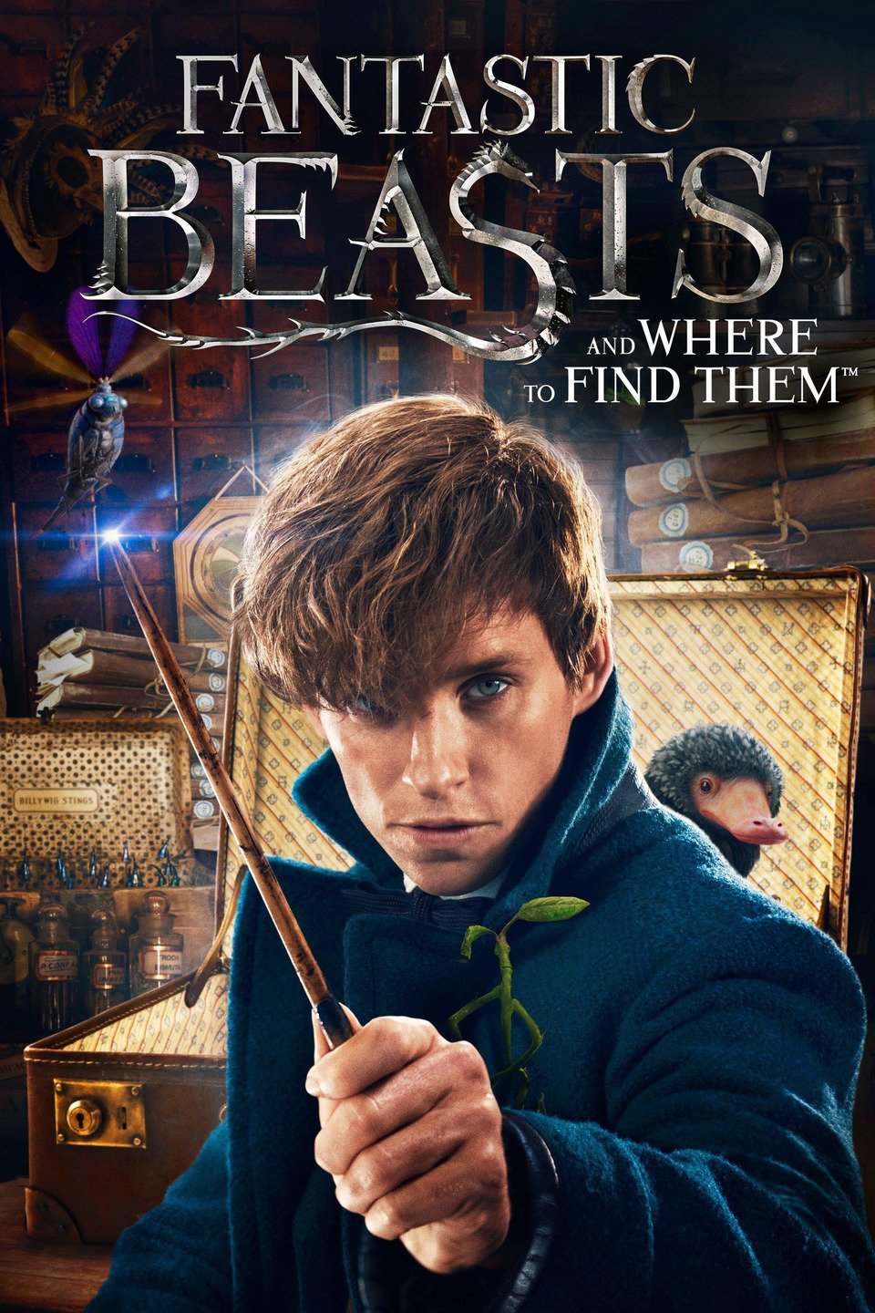 Fantastic Beasts and Where to Find Them (2016) Dual Audio Hindi 400MB BluRay 480p x264 ESubs