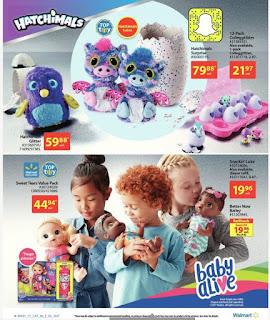 Walmart 2017 Holiday Gift Guide Flyer November 2 - 15, 2017