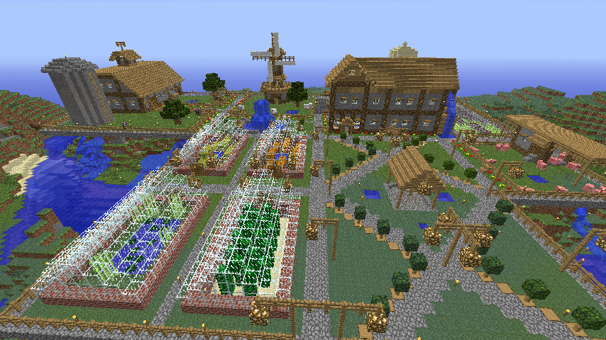 Roaring Design: blog #500 >> Minecraft Farm & More!