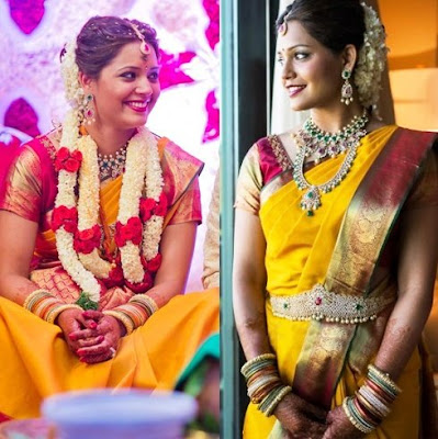 dipika-pallikal-wedding-sari