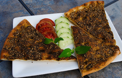 What makes this dish a favorite for many is the delicious mixture Za'atar Manoush Recipe