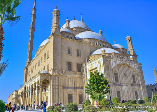 Alabaster Mosque in Cairo Citadel