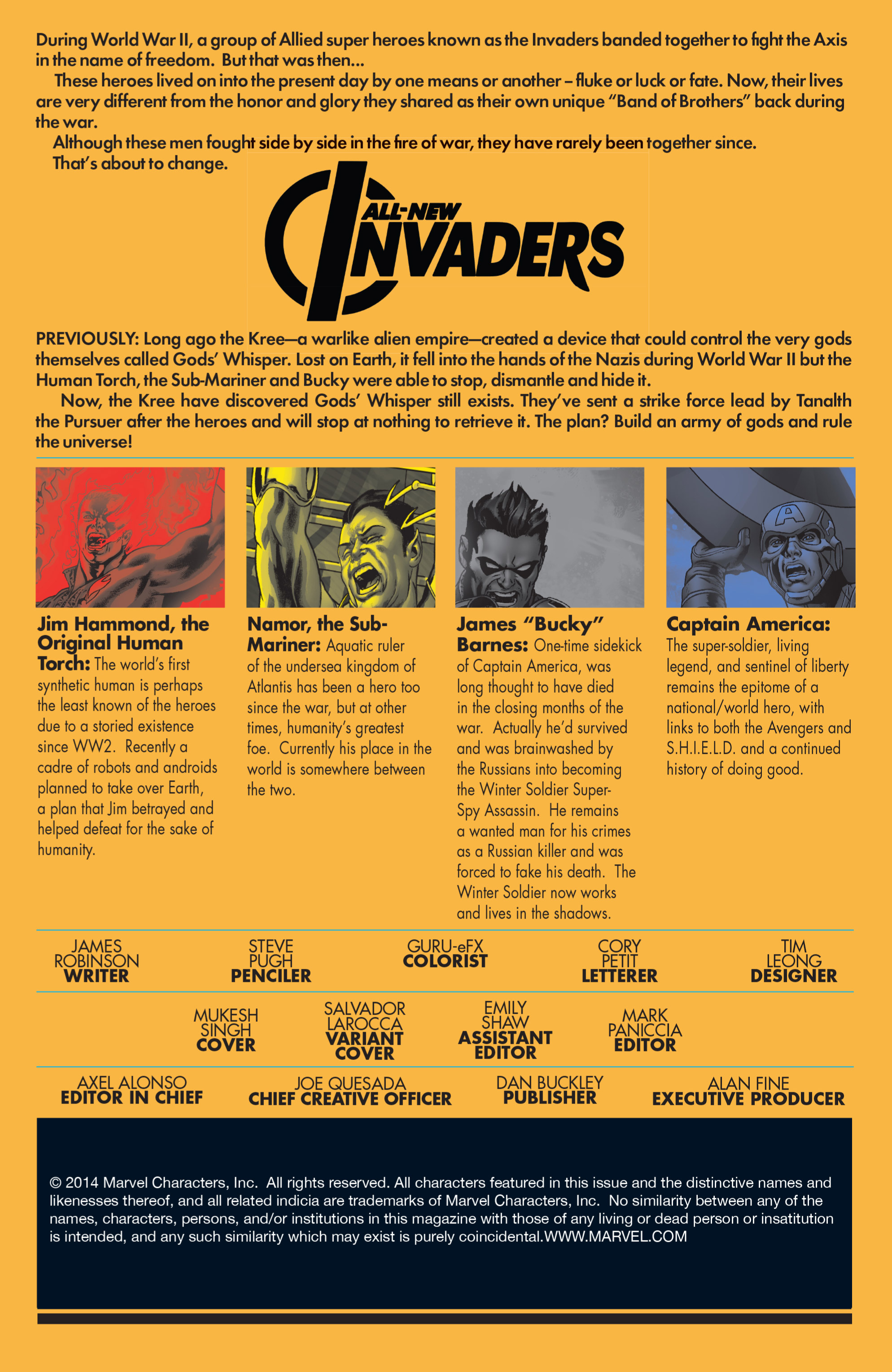 Read online All-New Invaders comic -  Issue #2 - 2