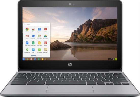 HP Chromebook – 11 6″ HD Touchscreen – Intel Celeron N3060