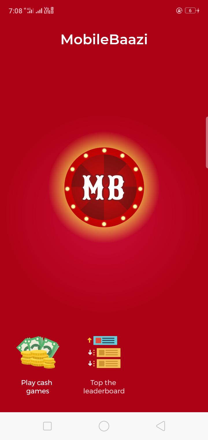 MobileBaazi App loot offer - Earn Money App Sing up Rs 25