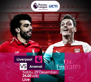 Susunan Pemain Liverpool vs Arsenal