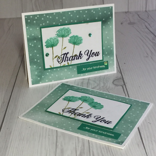 Daisy Delight hand made card with Emerald Envy cardstock from Stampin' Up!