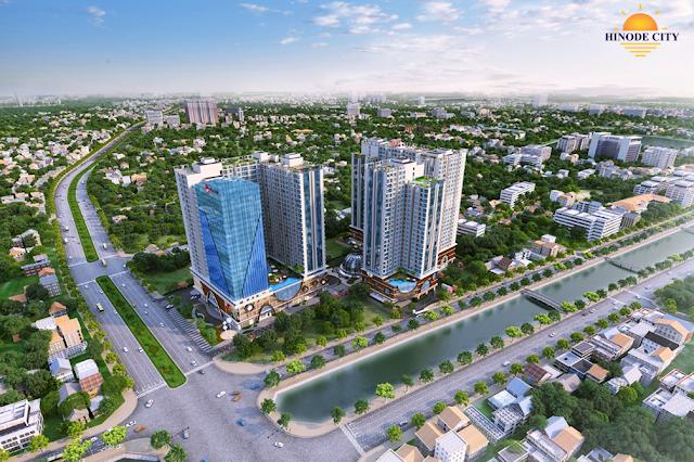 Phối cảnh dự án Hinode City Minh Khai