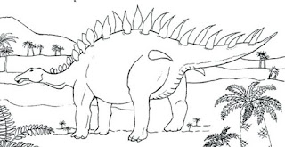 Best Of Stegosaurus Coloring Pages On Jungle