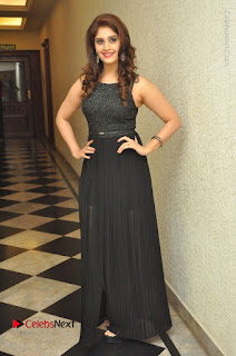 Actress Surabhi Stills in Black Long Dress at turodu Audio Launch  0147.JPG