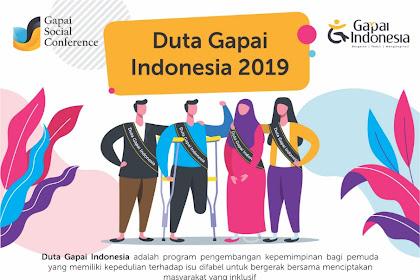 Pencarian & Pemilihan Duta Gapai Indonesia 2019 Umum Gratis
