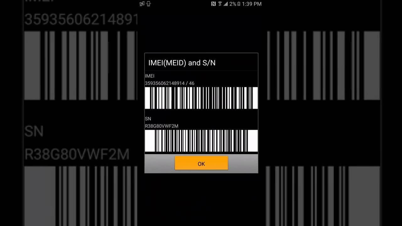 اصلاح رمز SN لجهاز Samsung Galaxy J7 Pro SM-J730F