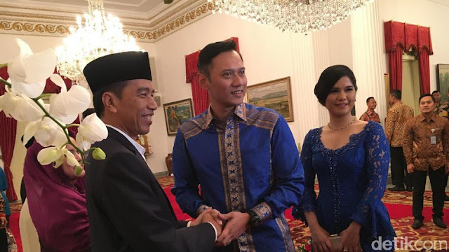 Jangan Salah Sangka dulu, Ini Agenda Agus Harimurti akan Temui Jokowi di Istana Merdeka
