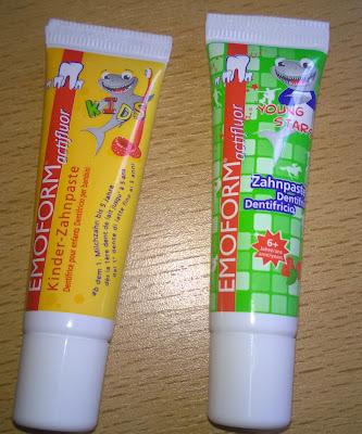 Emoform actifluor für Kinder.
