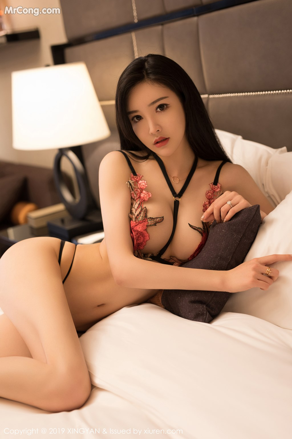 Image XingYan-Vol.121-He-Chen-Xi-MrCong.com-031 in post XingYan Vol.121: He Chen Xi (何晨曦) (49 ảnh)