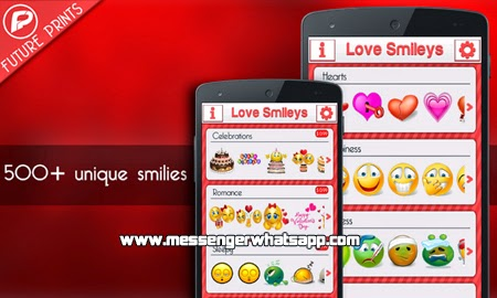 Expresa tu amor con Love Smileys for Whatsapp