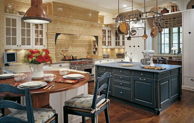 The Granite Gurus Navy Blue Kitchens