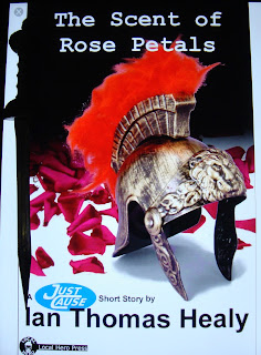 Portada del libro The Scent of the Rose Petals, de Ian Thomas Healy