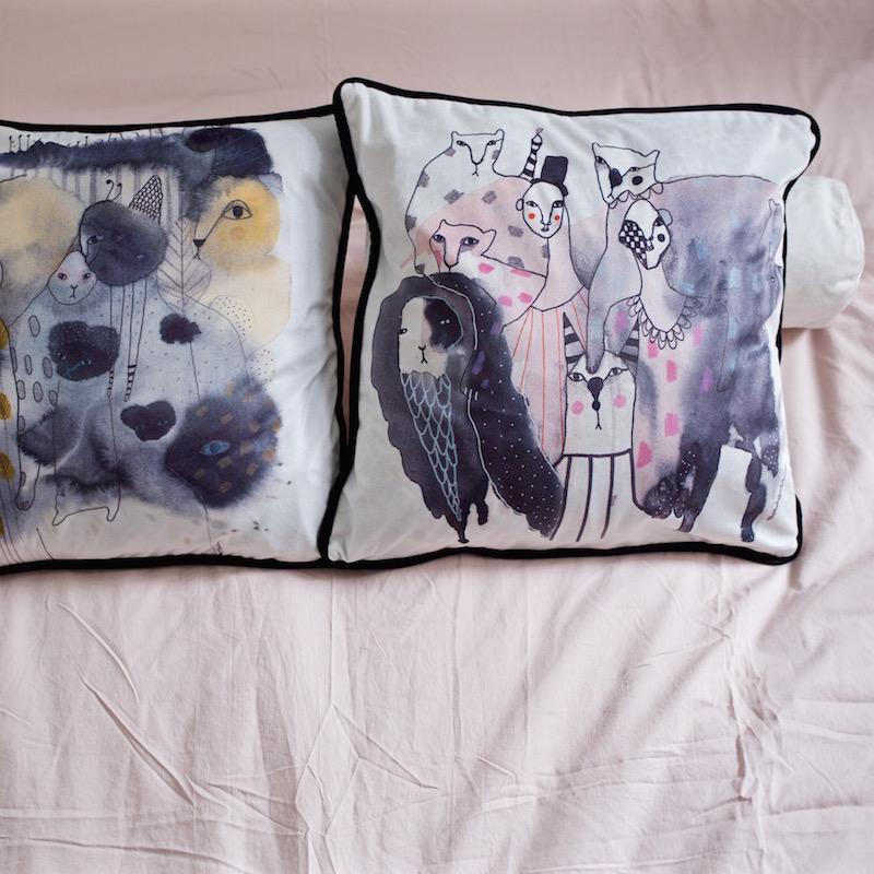 makuuhuone tyynynpäälliset svanefors