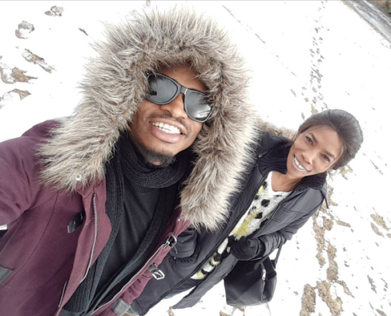 Photos Of Singer Diamond Platnumz, Babymama & Daughter Enjoy Holiday In Sweden