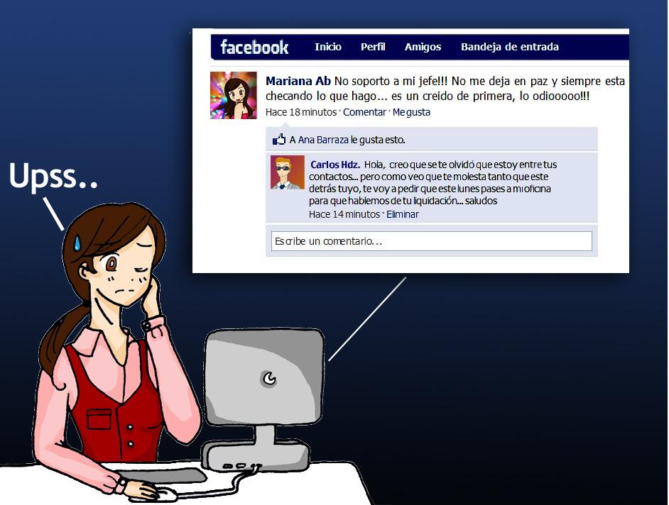 Cuidarse del mal uso de las redes sociales