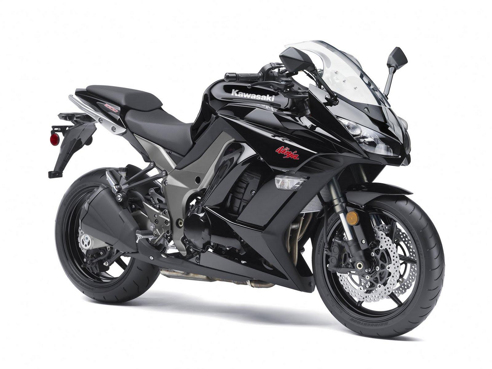 Kawasaki Ninja Streetsport Motorcycle Black