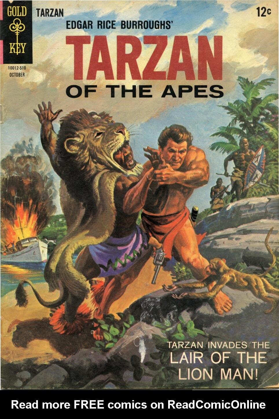Tarzan (1962) issue 153 - Page 1