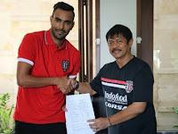 Mantan Gelandang Persib Berlabuh di Bali United