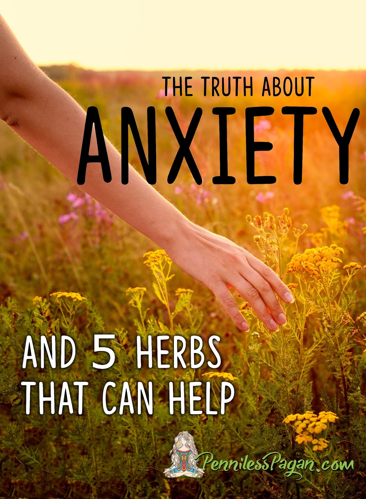 penniless pagan: the truth about anxiety and herbs to help