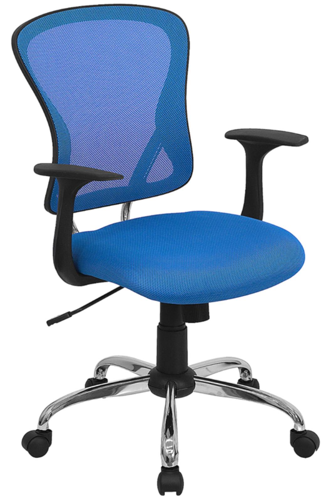 Blue Mesh Chair by Flash Furniture