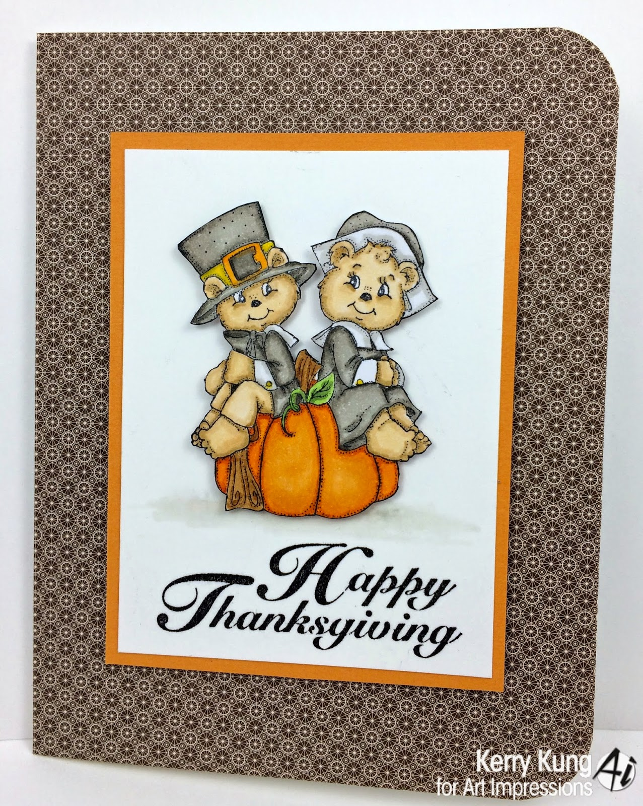 Art Impressions Blog: Happy Thanksgiving From Kerry