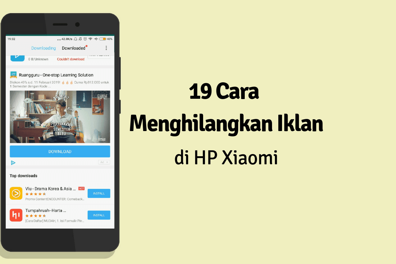19 Cara Menghilangkan Iklan di HP Xiaomi Paling Lengkap 2019