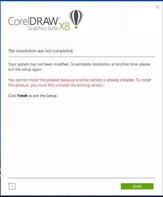 Cara Mengatasi Error Saat Menginstal CorelDraw x8