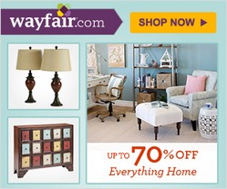 Wayfair.com Coupon Codes, Promo Codes and Promotional Codes