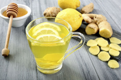 Green Tea with Ginger Lemon and Honey for Weight Loss